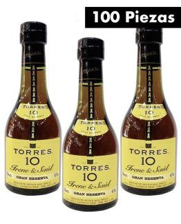 100 Botellas Torres 10 50ml-a
